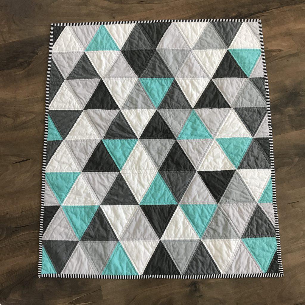 Triangle Quilt Patterns Magnificent Inspiration Design